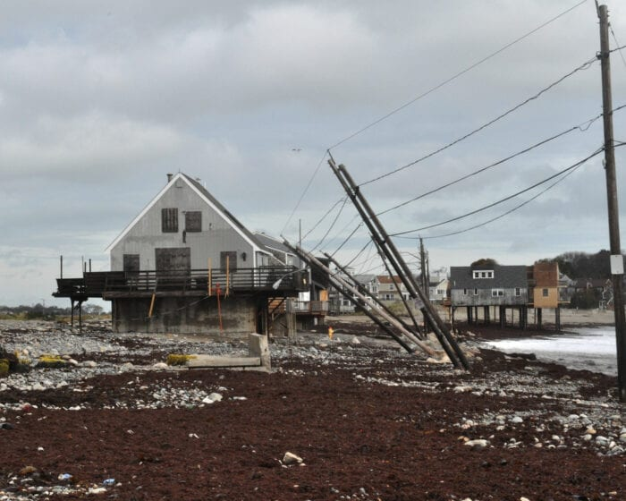Peggotty Beach Homes Survive Another Monster Storm